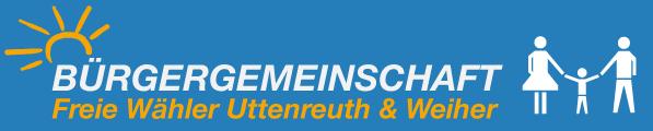 Bürgergemeinschaft / Freie Wähler Uttenreuth und Weiher Logo