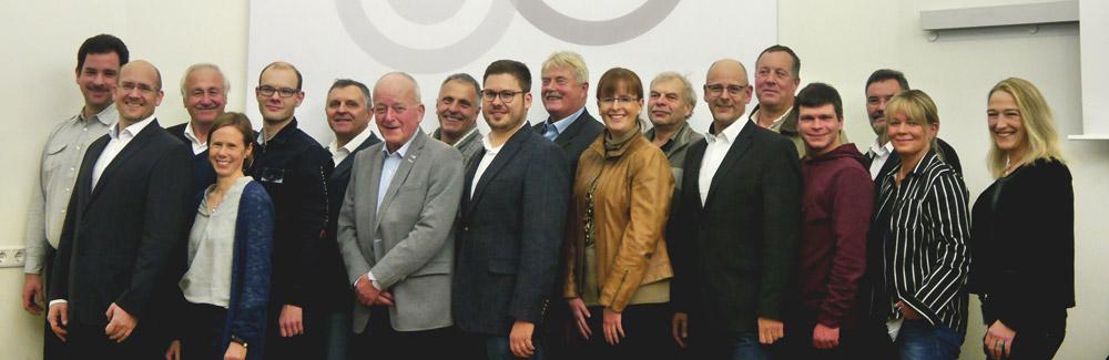 Die Listenkandidaten für die Gemeinderatswahl 2020